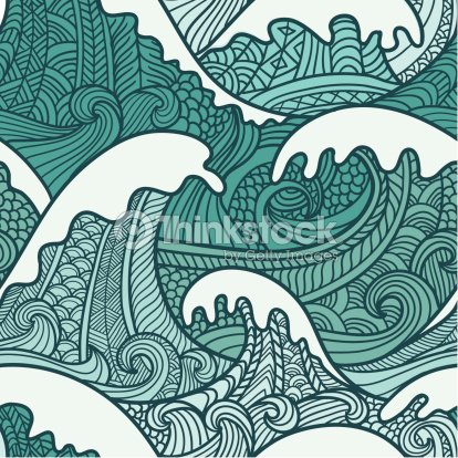 vagues motif sans couture clipart vectoriel thinkstock. Black Bedroom Furniture Sets. Home Design Ideas