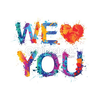 We Love You stock vector - Thinkstock