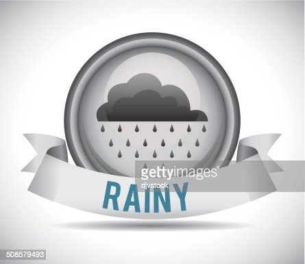 Weather design : Vectorkunst