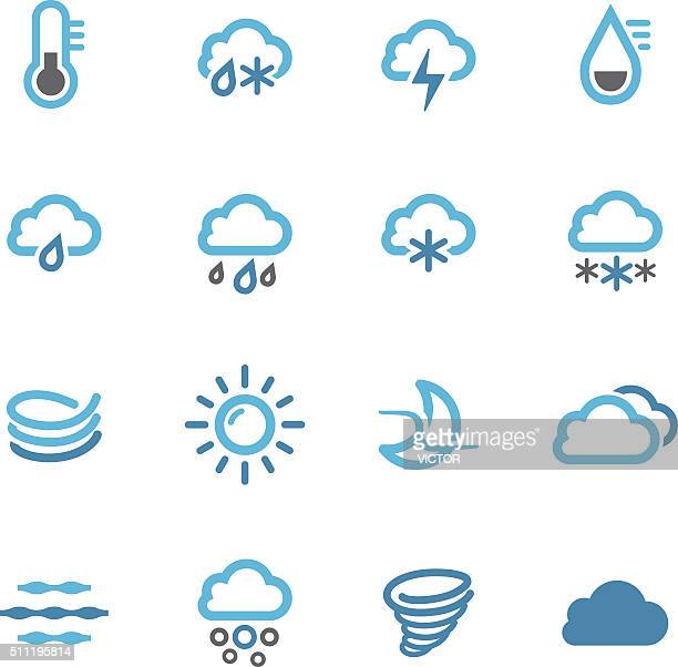 Weather Icons Set - Conc Series