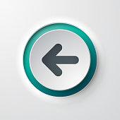 web icon push-button backward arrow