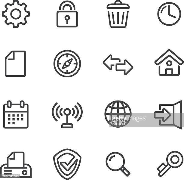 Web Icons - Line Series