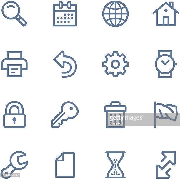 Web-Linie-icons