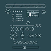 Web UI Elements. Elements Buttons, Switchers, Slider