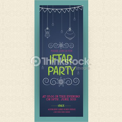 Iftar Banners Hand Drawn Floral Banners