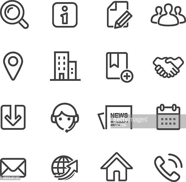 Website Icons - Line Series