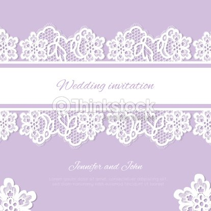 Wedding invitation lace background with a place for text vector art wedding invitation lace background with a place for text vector art stopboris