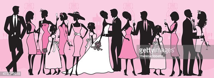 Wedding Party Vector Art | Getty Images