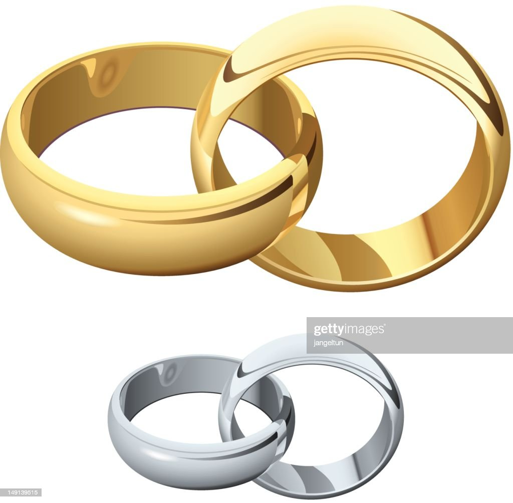 Wedding Rings Vector Art Thinkstock