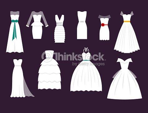 boda novia blanco vector vestido de elegancia estilo celebración