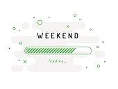 Weekend Activities, Loading, Background.
