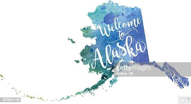 Alaska Us State Vector Art And Graphics