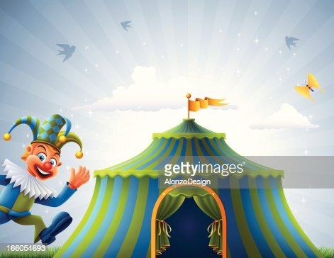 Welcome to Circus : Vector Art
