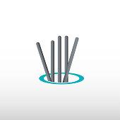 welding technology vector icon
