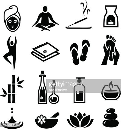 Wellness icon  Wellness And Relax Icons Vector Art | Thinkstock
