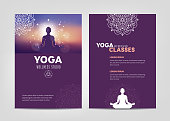 Wellness and Yoga Studio Brochure Template