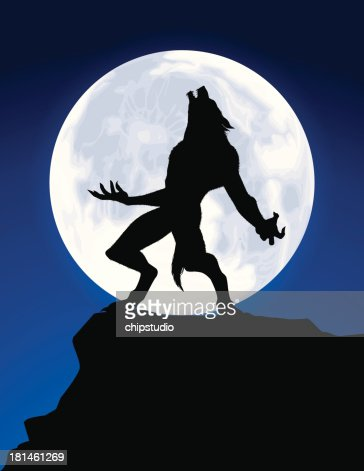 Werwolf Howl : Vektorgrafik