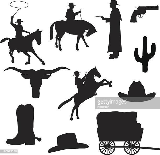 Western Silhouette Collection (vector+jpg)