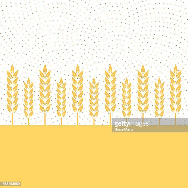 Blé plantation-Illustration