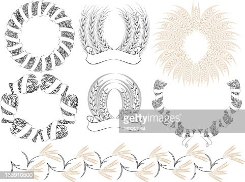 Wheat : Vector Art