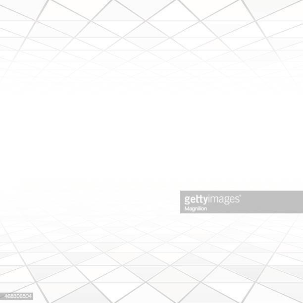 Abstrait Triangles arrière-plan blanc