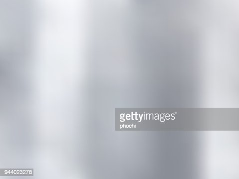 White and gray gradient blurred style background. Silver metal material texture. : stock vector