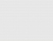 White brick wall. Vector background