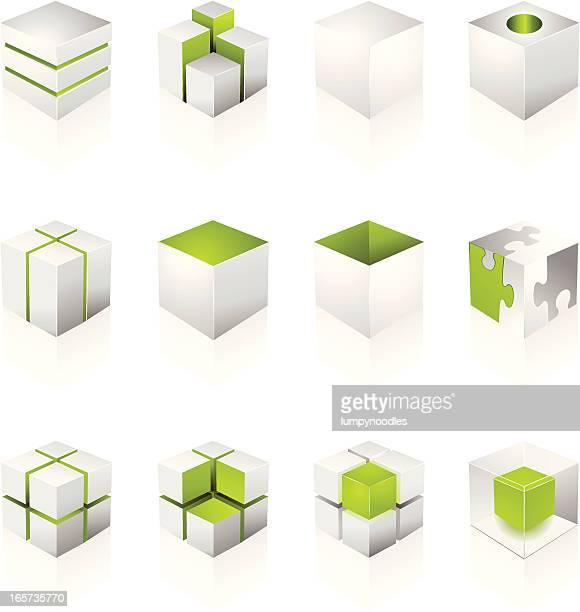 White Cube Design Elements