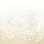 white gold light background abstract design vector illustration blur circle bokeh.