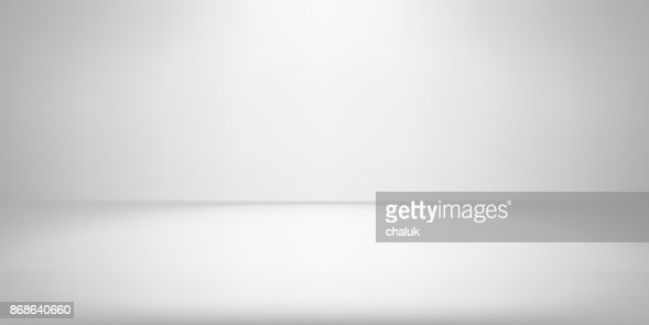 White studio room background spotlight vector gradient photobox lightbox backdrop : Vector Art