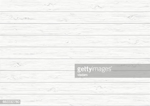 White wood plank texture background : stock vector