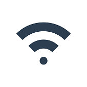 Meticulously designed WiFi signal icon