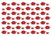 Wild boar pattern
