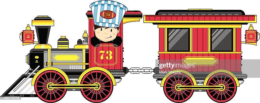 wild wild west train driver