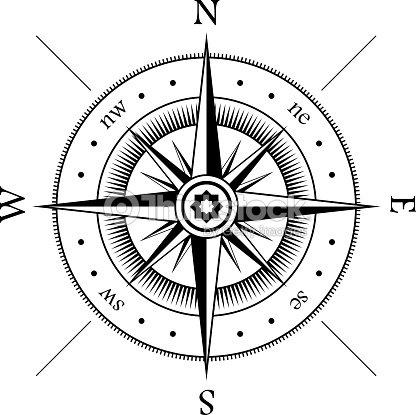 Wind rose clipart vectoriel thinkstock - Vivero la rosa del norte ...