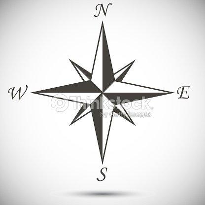 Windrose se al arte vectorial thinkstock - Vivero la rosa del norte ...
