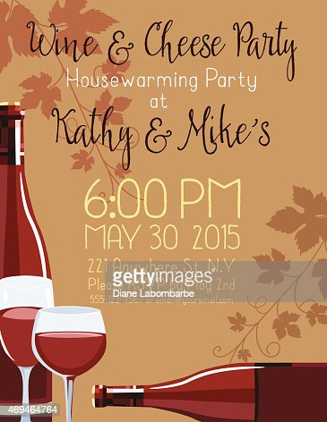 housewarming party invitation template vector art getty images