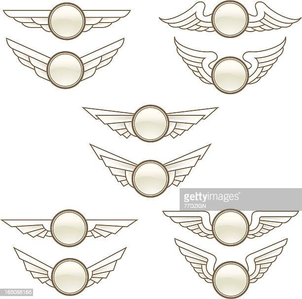 wing buttons