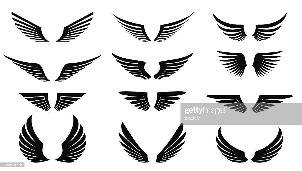 wings vector art thinkstock rh thinkstockphotos com wing vector designs wings vector free