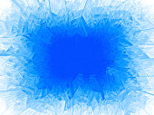 Winter blue frost background with copy space. Eps8. RGB Global colors