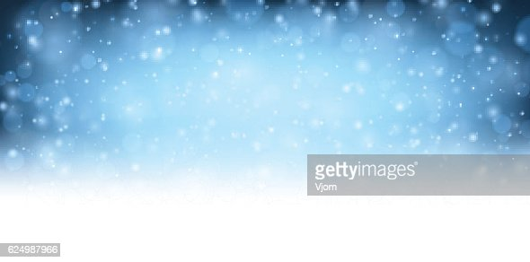 Winter blue shining background. : Vector Art