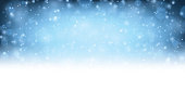 Winter blue shining background. Vector illustration.