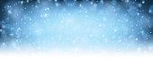 Winter blue shining background. Vector illustration.