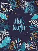 Hello Winter Card