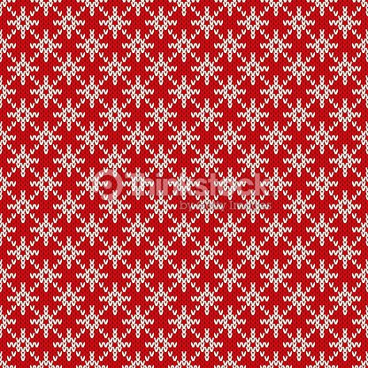 927d9f9b1413 Winter Holiday Seamless Knitted Pattern with a Snowflakes. Christmas  Knitting Sweater Design. Wool Knitted