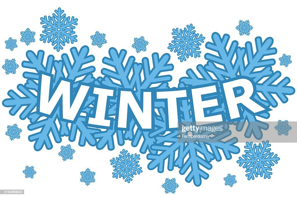 winter icon vector art getty images