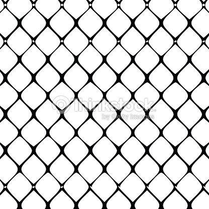 Draht Zaun Muster Vektorillustration Vektorgrafik | Thinkstock