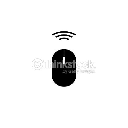 Wireless Mouse Icon stock vector - Thinkstock