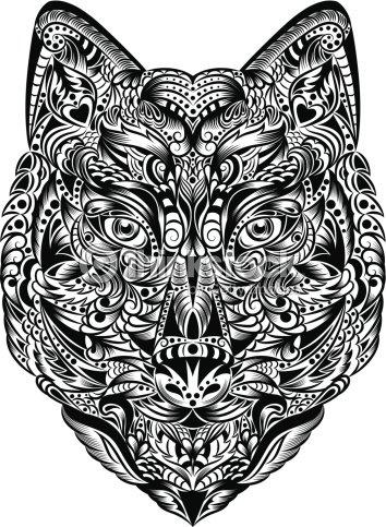 Lupo arte vettoriale thinkstock for Lupo disegno a matita