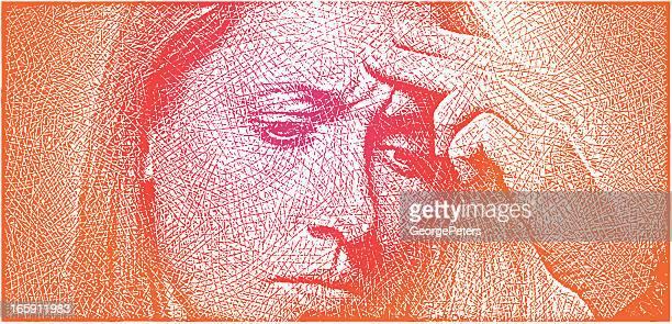Woman and Tension Headache